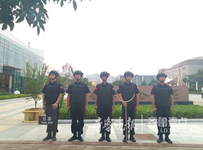 保游客安全 596名安保人员护航啤酒节崂山会场