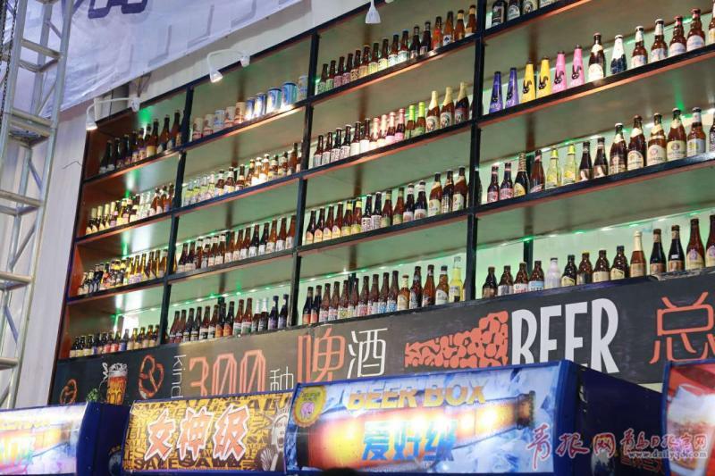 啤酒酒精高达67.5度 啤酒节崂山会场名啤荟萃
