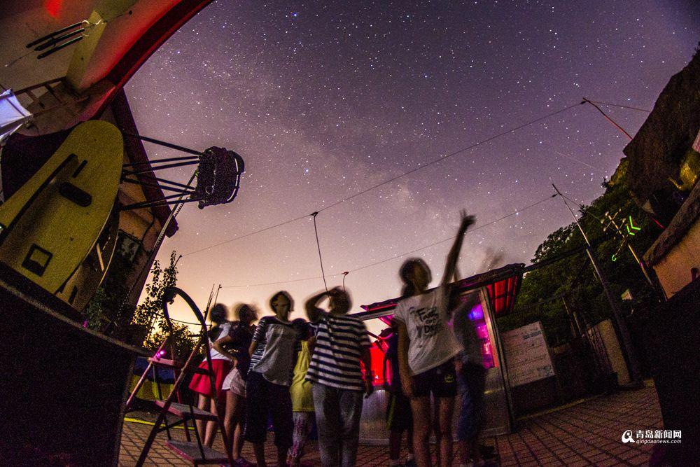 高清:一组美图告诉你 初秋青岛的夜空之魅