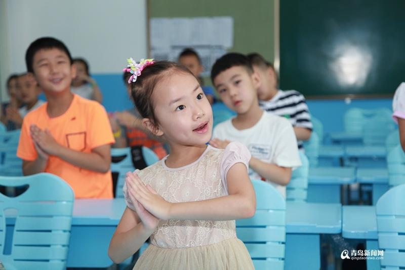浓浓中国风 实拍市北实验二小传统开笔礼图片