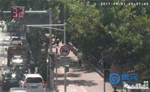司机注意:今起瑞昌路-嘉定路口闯禁行将被抓拍