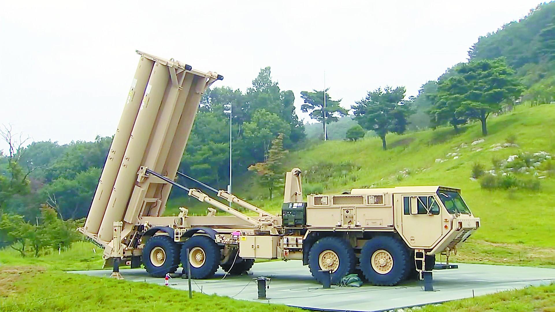 美韩补齐萨德威胁有多大?可探测华北导弹发射