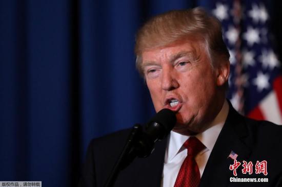 美国会通过法案 特朗普政府躲过此次关门危机