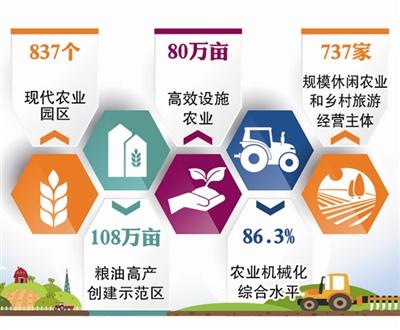 青岛837个现代农业园区 绿色发展成效显著