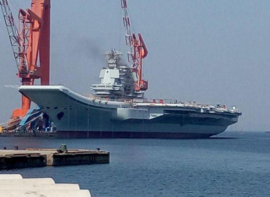 专家:中国第二艘航母开始研制 或采用核动力
