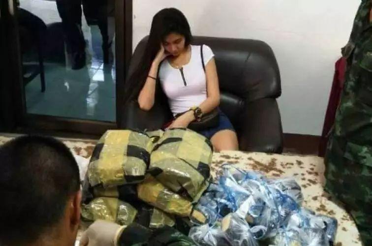 泰国女子运毒被查 施美人计迷惑警察(组图)