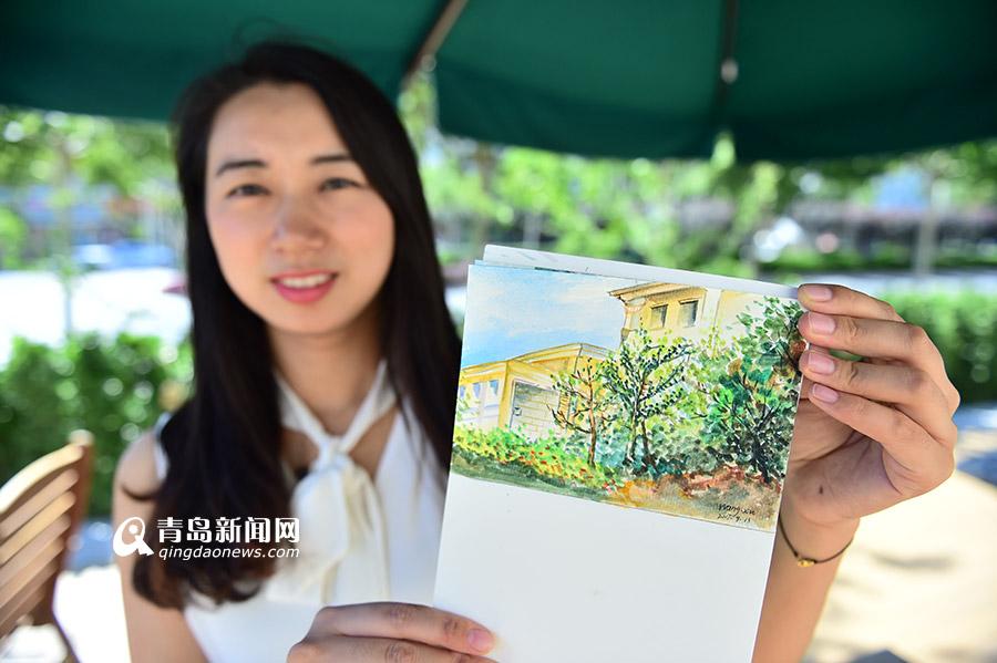 """高清:10位画家走进院士港 为""""科研圣地""""画像"""