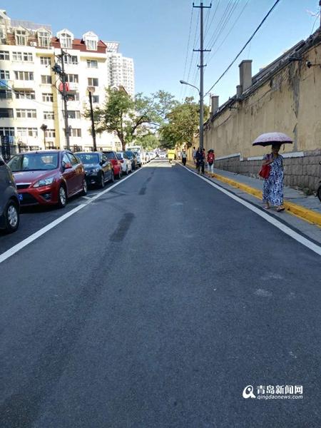 【爆料追访】停车泊位重新施划 盐城路变畅通