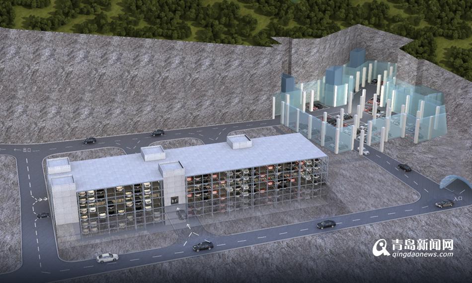 青岛在建停车场22处 将增加1.1万个停车位