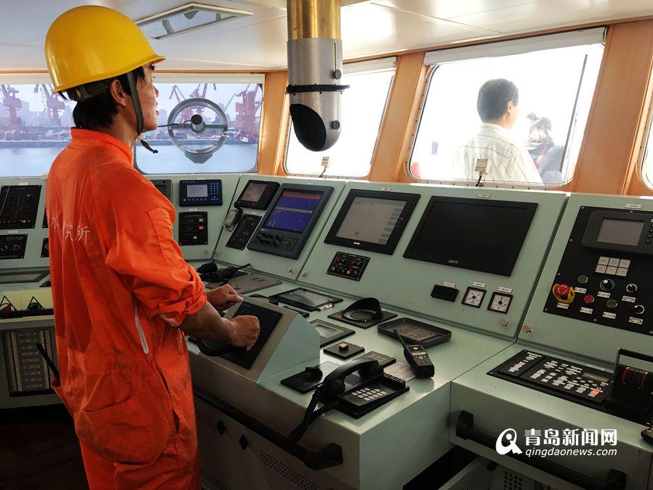 """""""黄海11""""号渔业调查船交付 看看长啥样"""