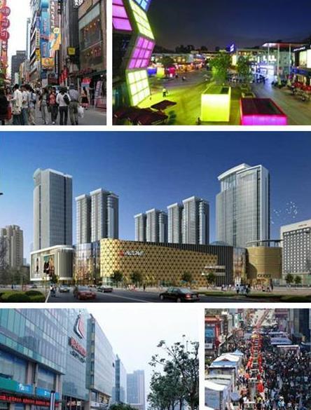 但随着大拇指广场,金狮广场,利群金鼎广场的相继开业,崂山商圈迅速