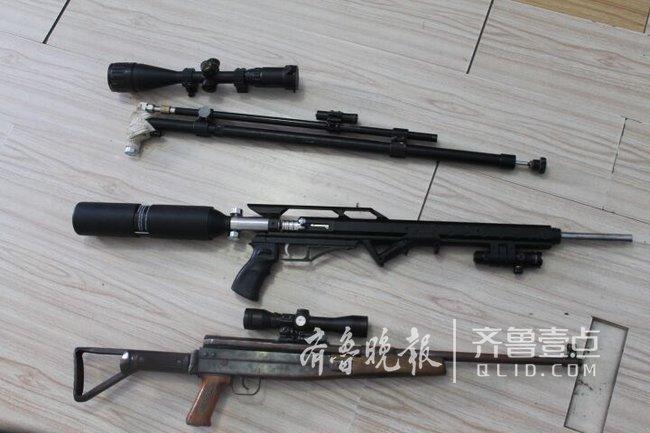 网上购买组装枪支打鸟 平度查处两起涉枪案件