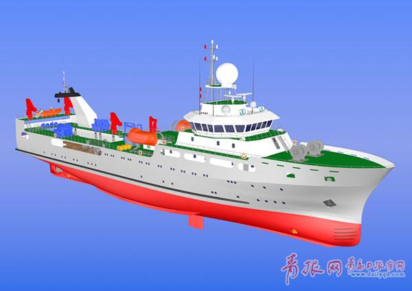 """黄海所""""渔业航母""""开建 全球无限航明年5月下水"""