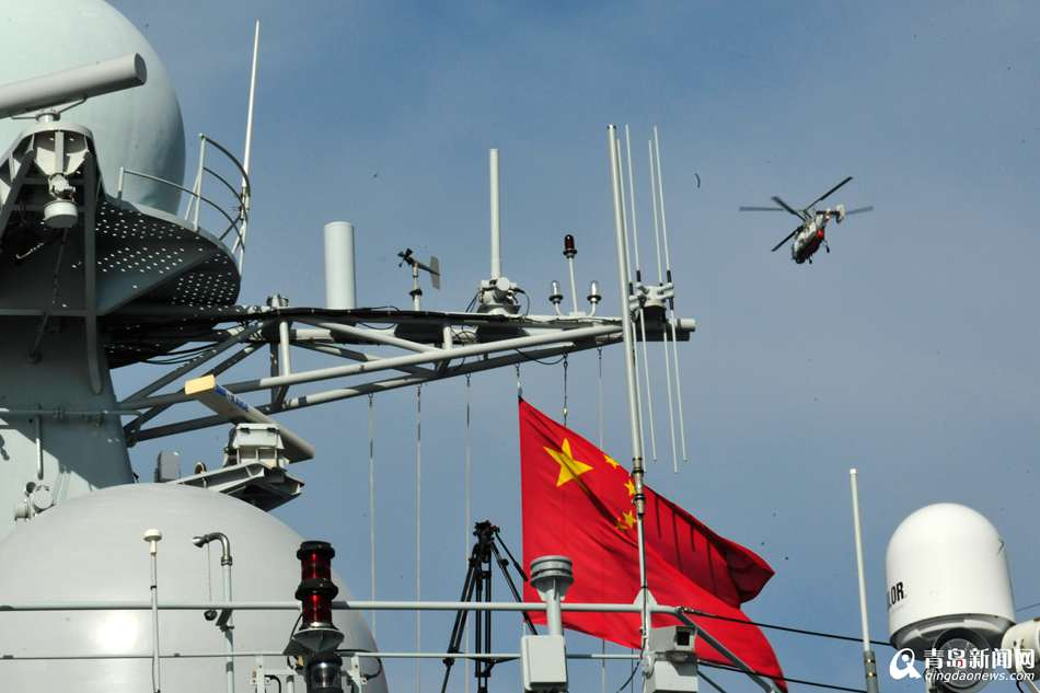 中俄海上军演结束 首次组织多舰种反潜演练