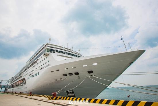 单日接客近7000人次 青岛邮轮母港创开港纪录