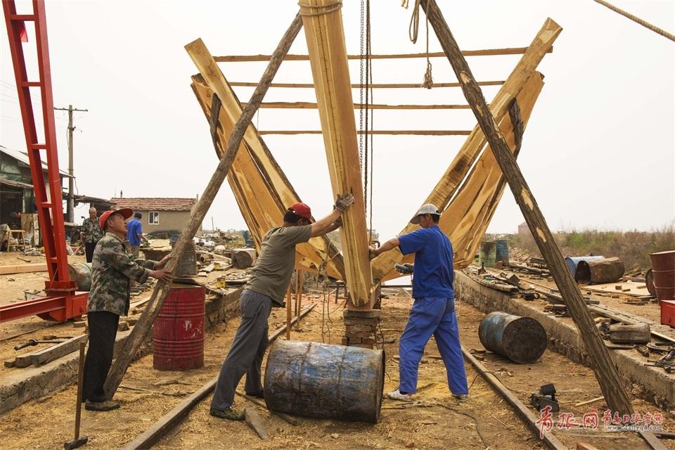 岁月彼岸的木船——实拍青岛最后的手工木船厂