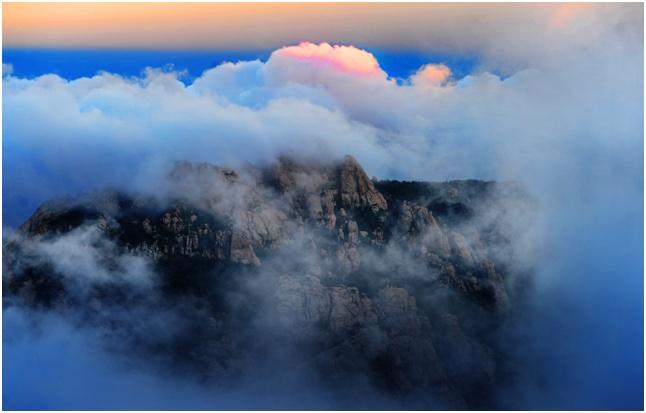 漂亮!秋天的青岛崂山是四海八荒最美的地方