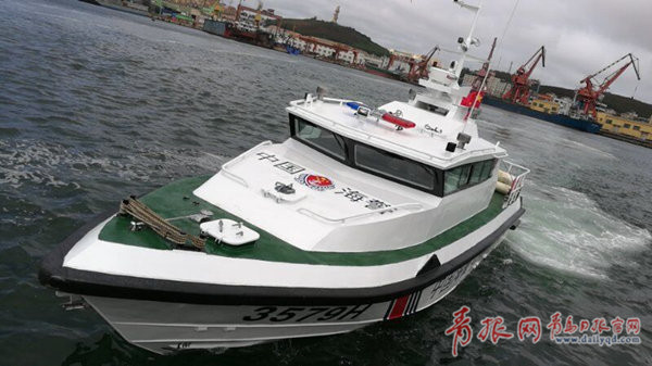 青岛研制成功新型单体高速艇 同类型速度最快