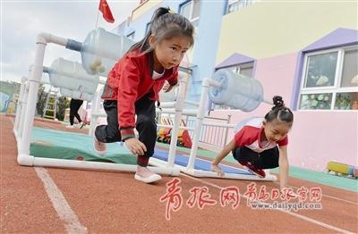 崂山改建51所公办幼儿园 下半年vr技术进教室