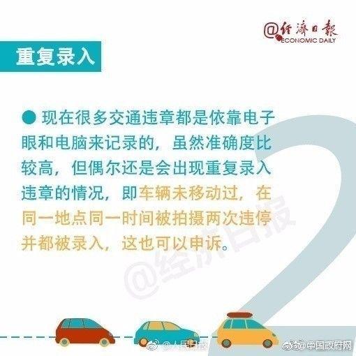 出现交通违章先别急着交罚款 这7种情况可申诉