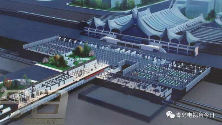 济青高铁新进展 红岛站站房将开始主体施工