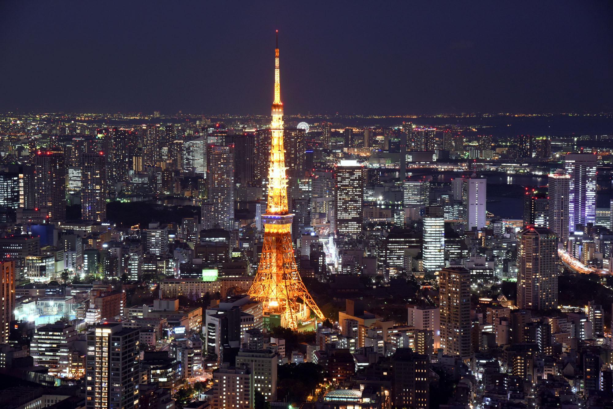 上海和东京的gdp_上海和东京夜景