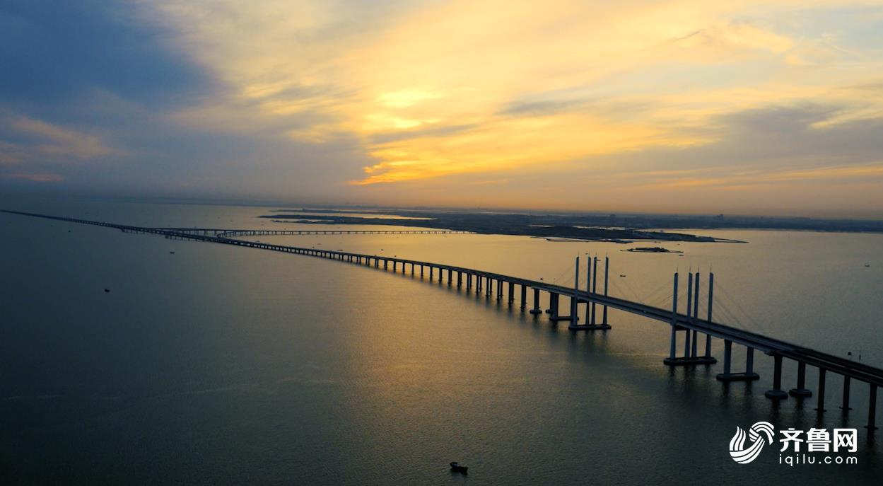 山东之最:瞰世界最长跨海大桥 为超级工程点赞