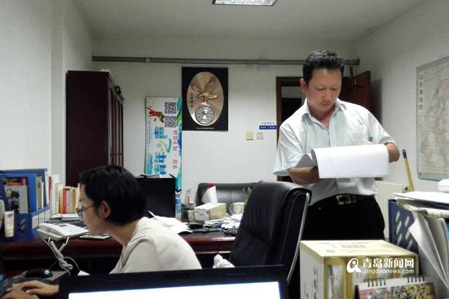 【我与海外院士青岛行】王英杰:志愿者的管家