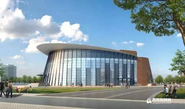 青岛幼儿师范新校部分建筑封顶 一期明年建成