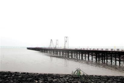 胶州湾大桥胶州连接线现雏形2020年6月竣工