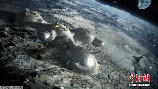 月球地下竟存在巨大坑洞将来或可作为探月基地