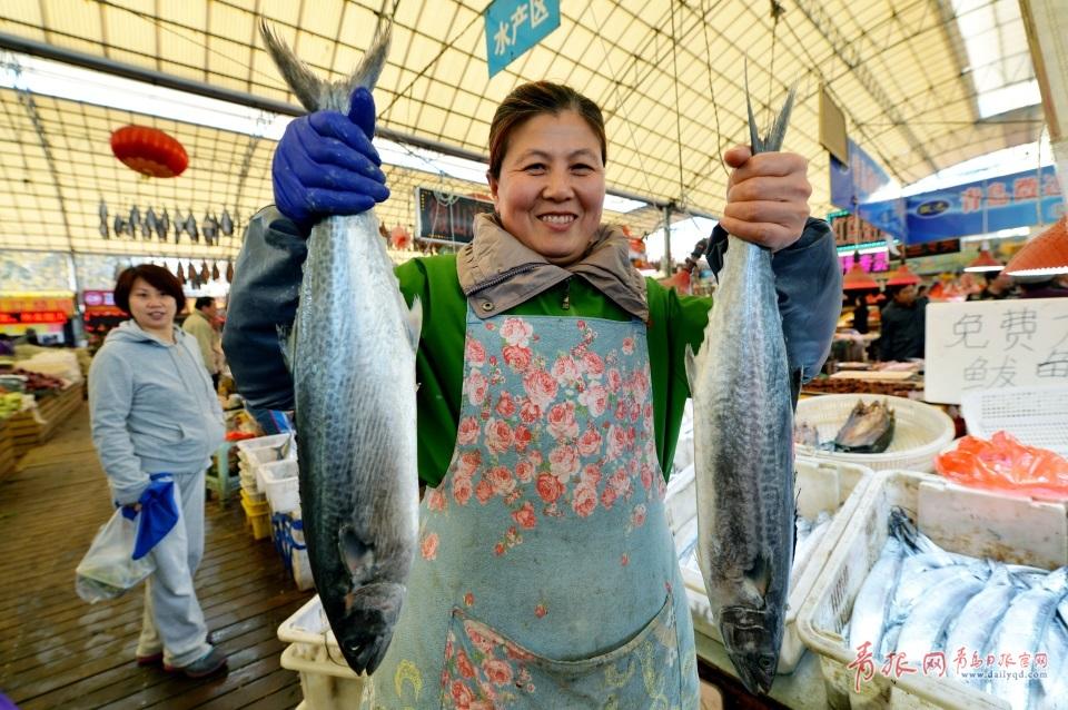 青岛进入秋鲅鱼晾晒季 空中美味诱人味蕾(图)