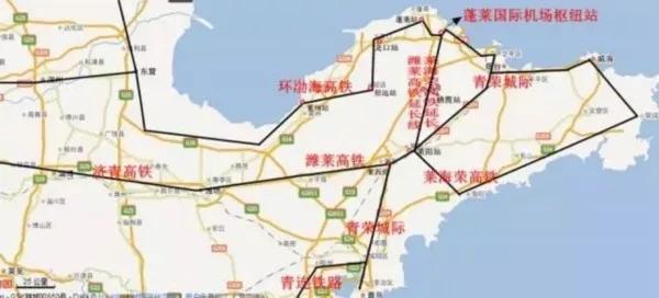 俩小时就能到天津!山东又一条高铁连接青岛!