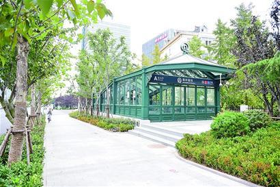 地铁2号线东段模拟试运营售票安检系统调试完毕
