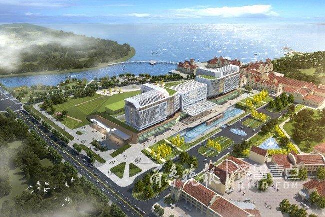 上海东方医院青岛分院主体封顶,为胶州首家三甲医院
