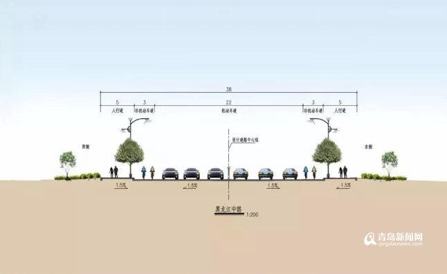 黑龙江路城阳至李沧段将改造 年底前全部完工