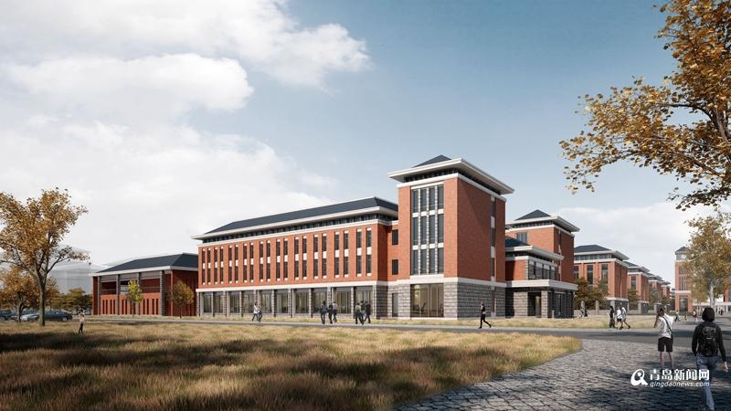 青岛农业大学平度校区效果图公布 2019年竣工