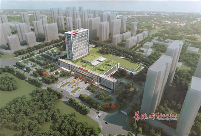 电子游戏平台:青岛八医东院区开工_配建全国最大智能停车场