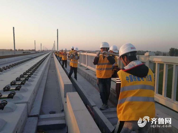 济青高铁最新进展:年底将完成高速段铺轨