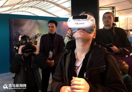 国际VR创新大会周四在青开幕 可免费观展体验