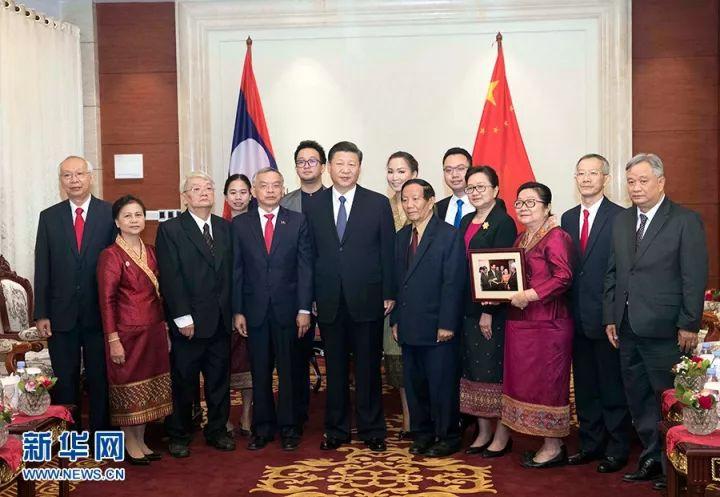 今天,习近平在老挝见了一些很特别的朋友