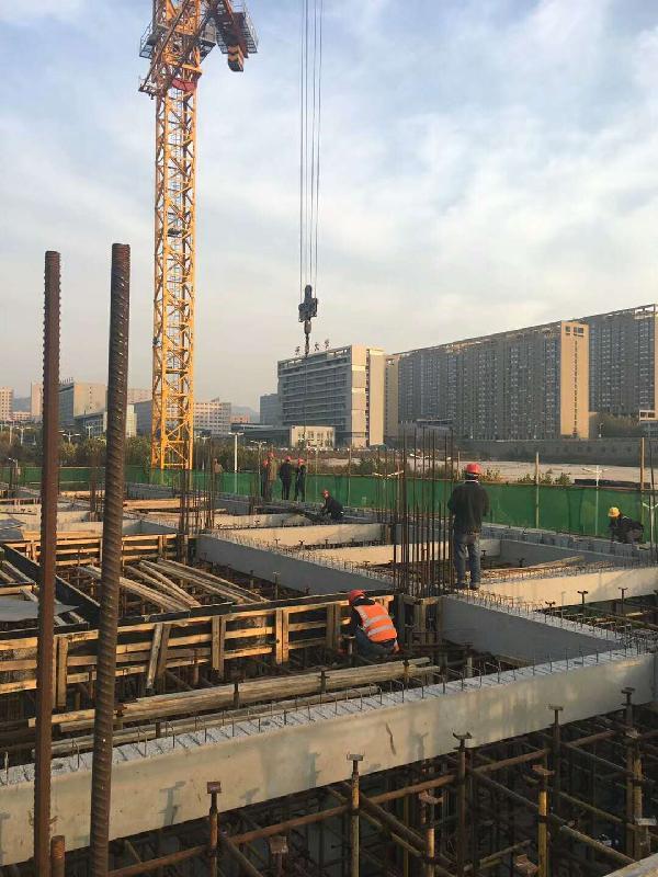 市内三区首个装配式公共建筑项目开工建设