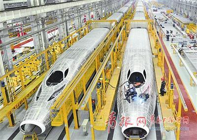 青岛世界动车小镇:十大平台关乎中国高铁未来