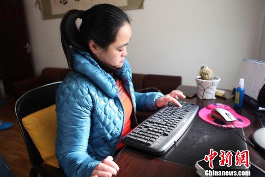 澳门威尼斯人网上赌博:都江堰脑瘫作家陈媛:要让更多的残疾人融入社会