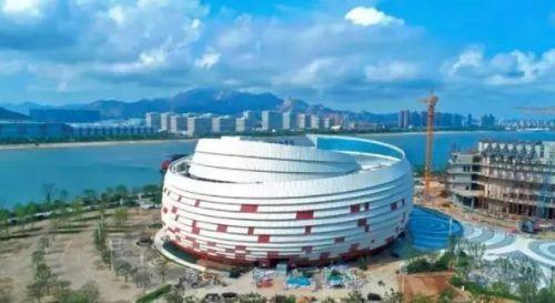 5万名观众的体育馆,总建筑面积达21.8万平方米.