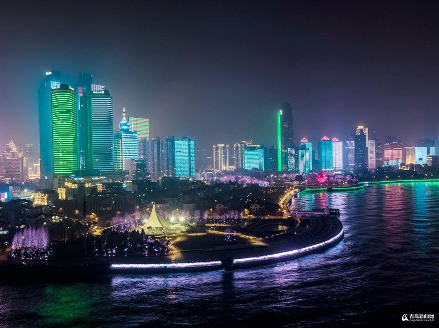 青岛将开启节日亮化模式,浮山湾,cbd,西海岸,石老人,高新区等诸多板块