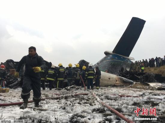 bob官网:尼泊尔客机坠毁至少49人遇难 事故原因众说纷纭