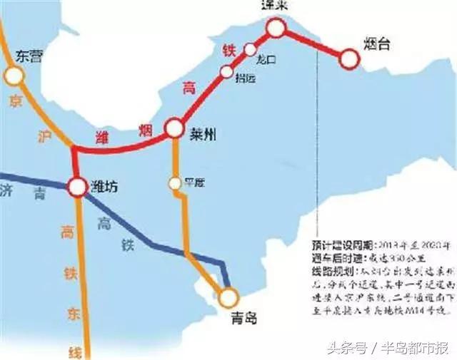 70ebe9f1 c7c9 4d91 a28d f729ef6b1c06 - 有这些交通大项目即将潍烟高铁环评公示还