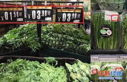 有机蔬菜被曝掺假 面对食品安全问题你能容忍几
