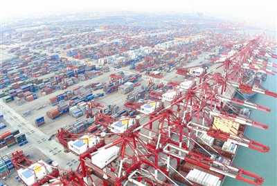 青岛打造一带一路交通枢纽 成海上合作战略支点